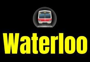 Waterloo  London Underground Station Logo PNG