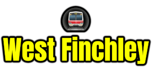 West Finchley  London Underground Station Logo PNG