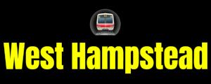 West Hampstead  London Underground Station Logo PNG