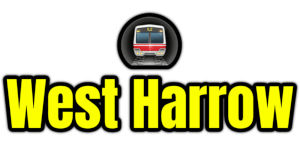 West Harrow  London Underground Station Logo PNG