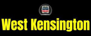 West Kensington  London Underground Station Logo PNG