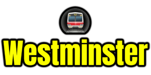 Westminster  London Underground Station Logo PNG