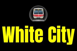 White City  London Underground Station Logo PNG