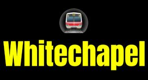 Whitechapel  London Underground Station Logo PNG