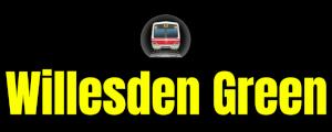 Willesden Green  London Underground Station Logo PNG