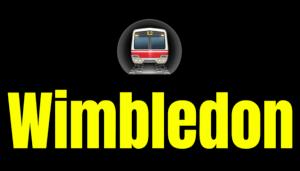 Wimbledon  London Underground Station Logo PNG