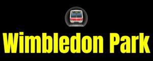 Wimbledon Park  London Underground Station Logo PNG