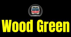 Wood Green  London Underground Station Logo PNG