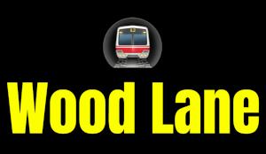 Wood Lane  London Underground Station Logo PNG