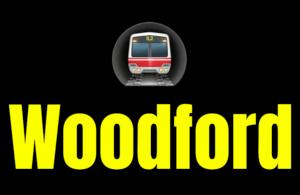 Woodford  London Underground Station Logo PNG