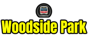 Woodside Park  London Underground Station Logo PNG