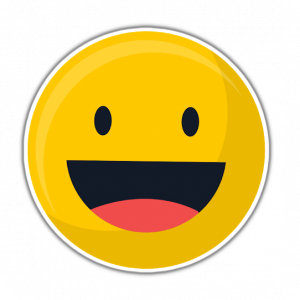 borderize sticker emoji smiling