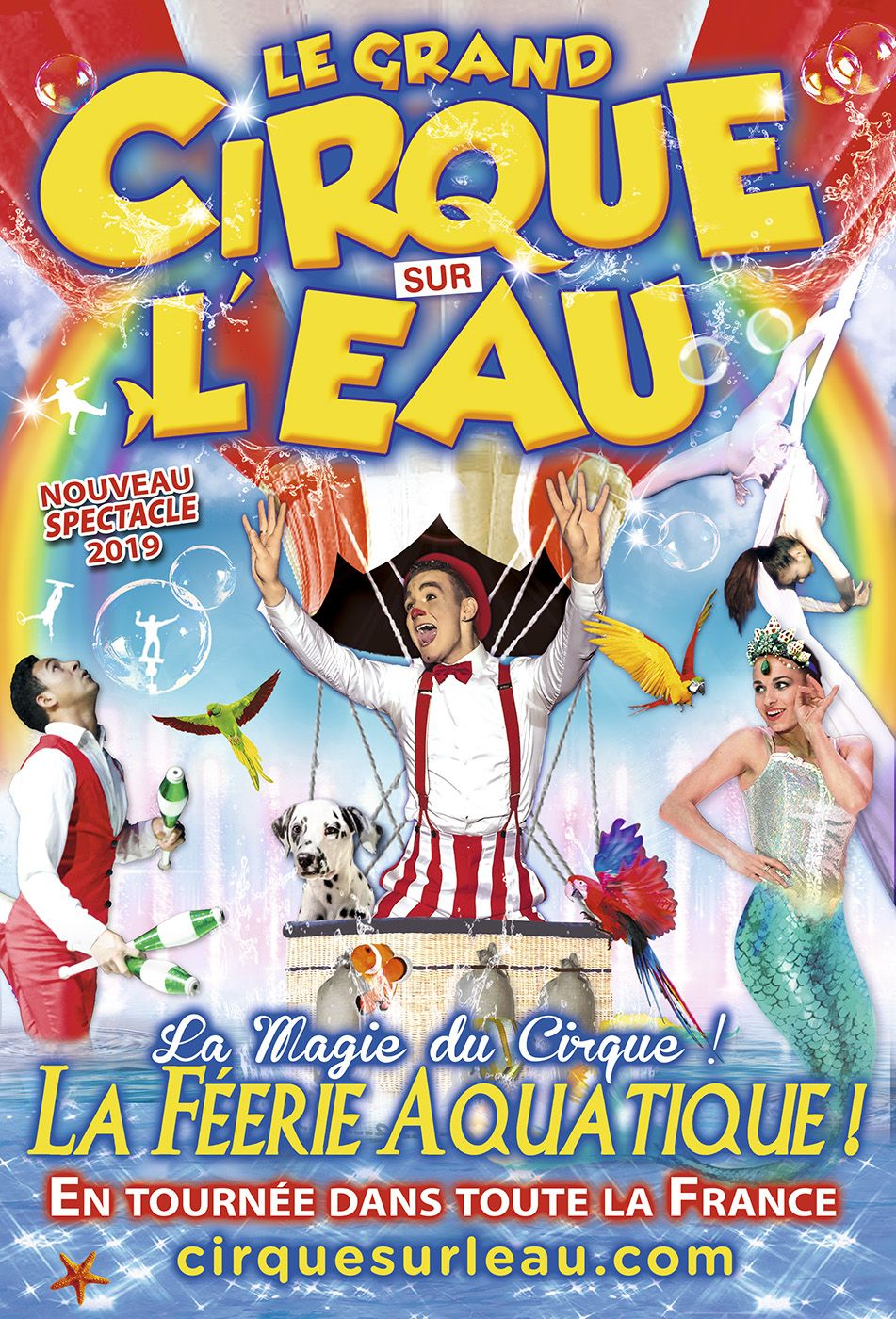 cirque sur l eau arena productions image