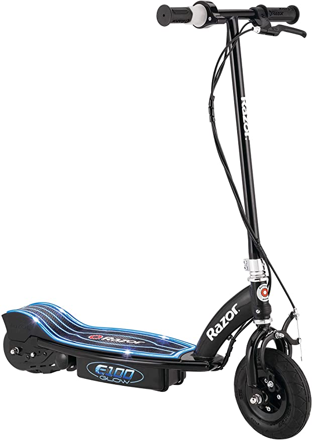 Razor E100 Glow Electric Scooter for Kids Age 8+