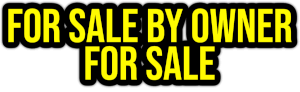 for sale by owner for sale PNG