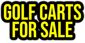 golf carts for sale PNG
