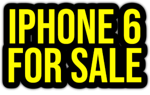 iphone 6 for sale PNG