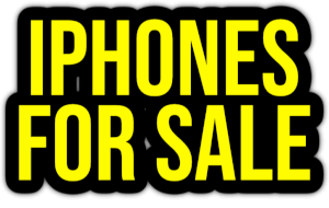 iphones for sale PNG