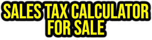 sales tax calculator for sale PNG